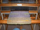 work at a loom