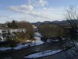 厳寒の馬淵川