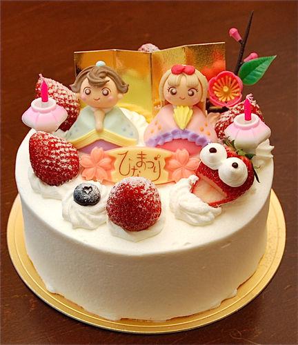 3月にオススメ、特製ケーキ