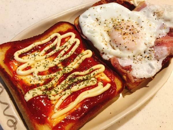 【朝食】パンにマヨしぼって卵落とすやつ作ろうと思うんだけどさ 【画像あり】