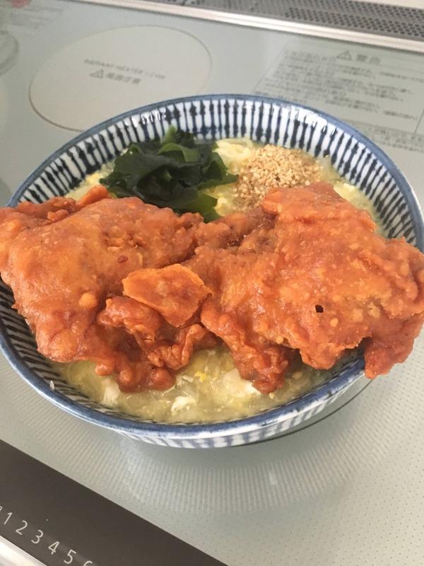 【画像あり】 ほいよ、これ240円で作った唐揚げ・アチアチ・塩ラーメンね