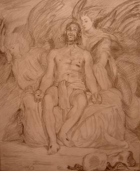 キリストと天使