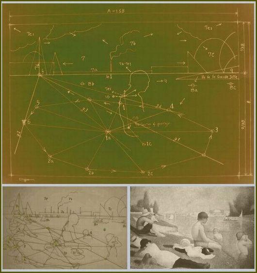 アニエールの水浴構造図