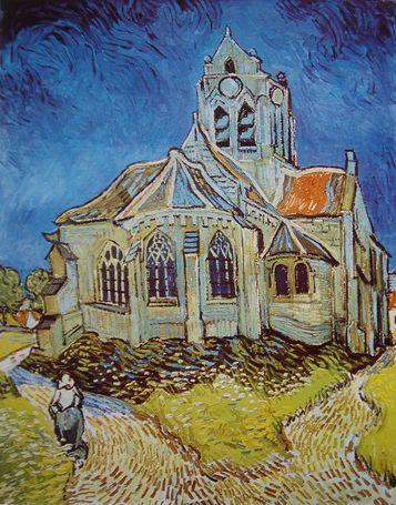 オーヴェールの教会