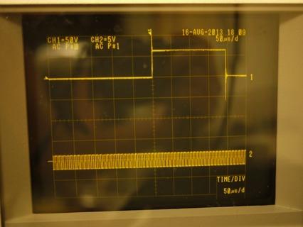 テスラコイル 波形 入力