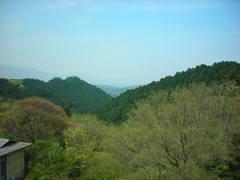 奈良の山々