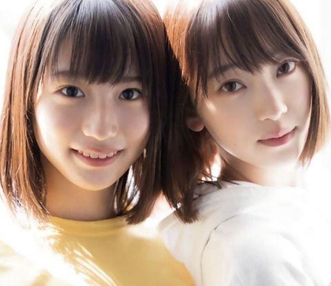 【乃木坂46】可愛すぎ・・・これは姉妹ですね・・・