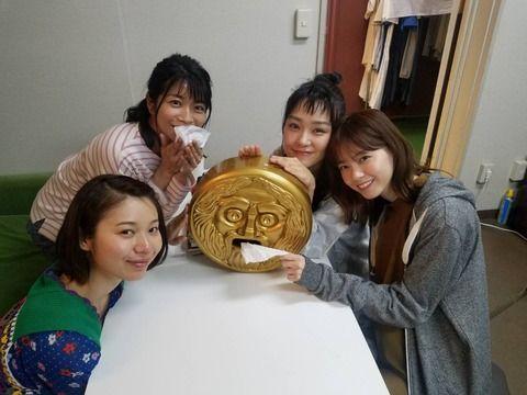 西野七瀬『あな番』の集合写真が可愛い!!!