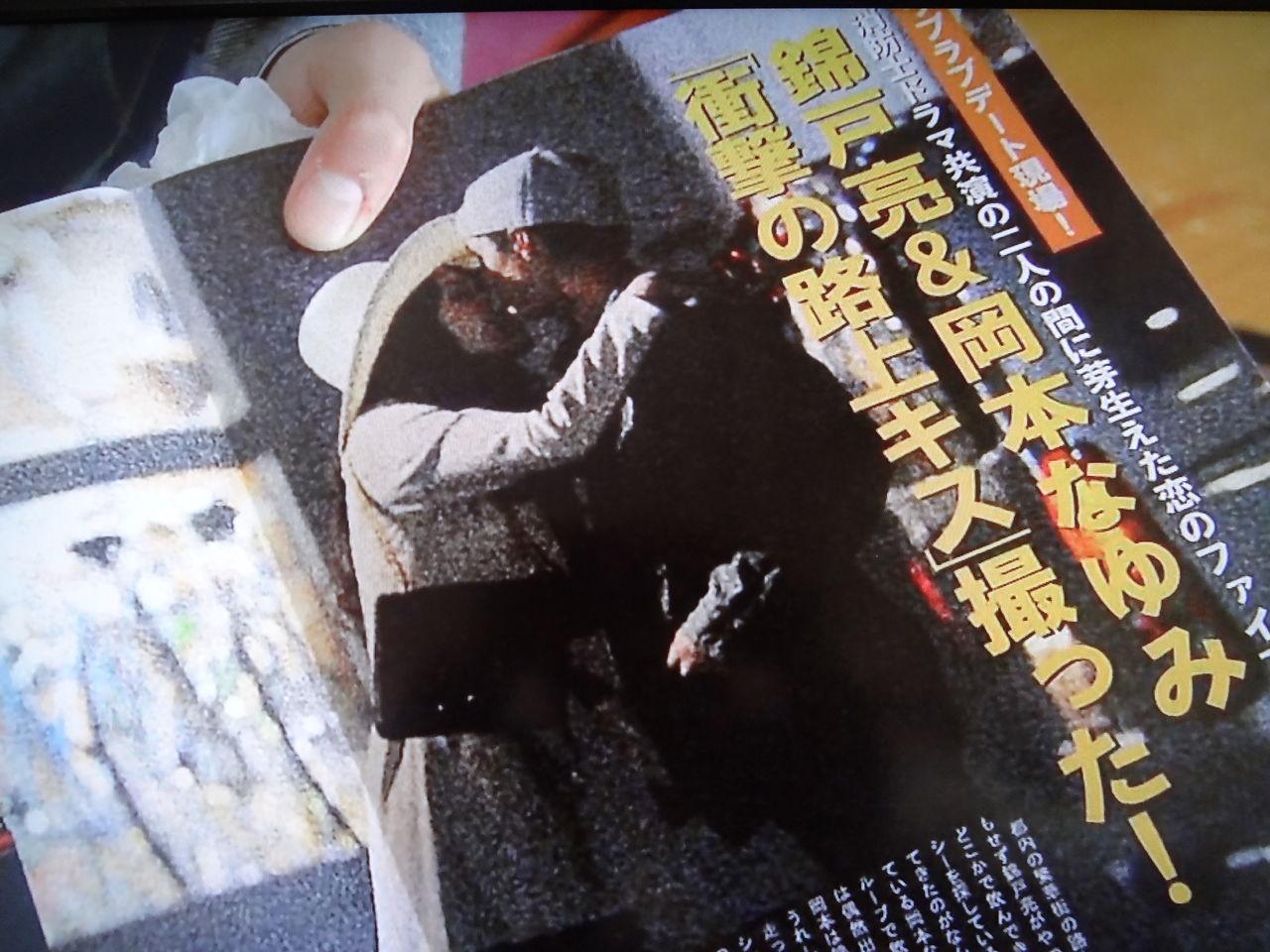 亮 週刊 誌 錦戸