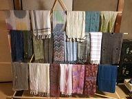 6月展 スカーフ