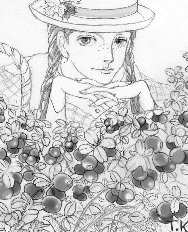リンゴンベリー(苔桃)とアン