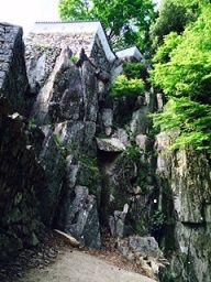 松山城3 岩盤