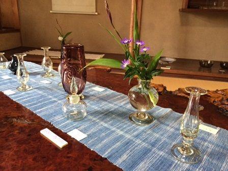 座敷テーブルガラス
