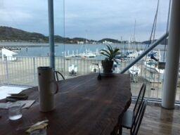 ヨット 喫茶テーブル
