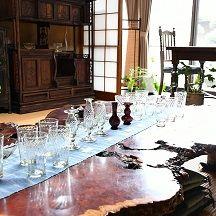 ガラス 座敷テーブル