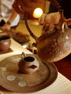 台湾茶 入れるところ
