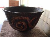 乾漆 茶碗
