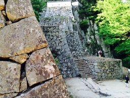 松山城1 石垣