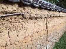 浄瑠璃寺 土塀