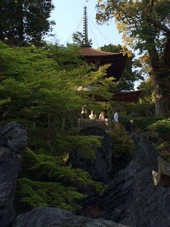 石山寺 石の上 2