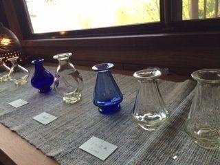 カウンターのガラス