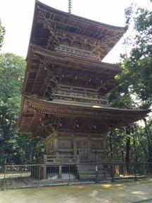 本山時 三重の塔