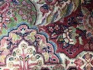 ペルシャ絨毯ウール 細部