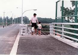 所沢陸橋から南西方向