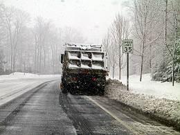 アメリカの除雪車