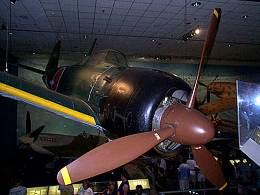 スミソニアン航空宇宙博物館のゼロ戦
