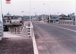 所沢陸橋から北方向