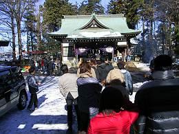 安松神社のお正月