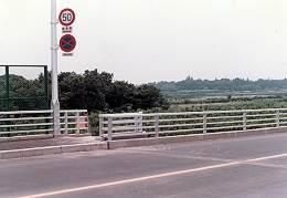 所沢陸橋から南東方向