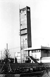 所沢市東消防署の望楼