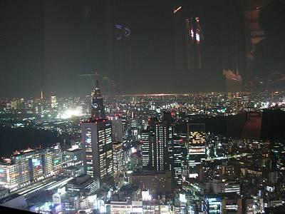 新宿センタービルからの夜景