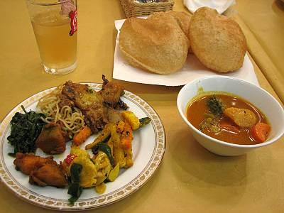 ネパール料理 カトマンドゥの料理