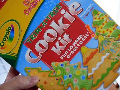 CrayolaのCookie Kit