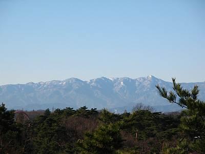 荒幡富士から見た丹沢方面