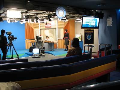 NHKスタジオパーク アナウンサー体験