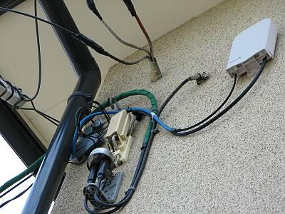 Yahoo! BB 光 成端キャビネット接続
