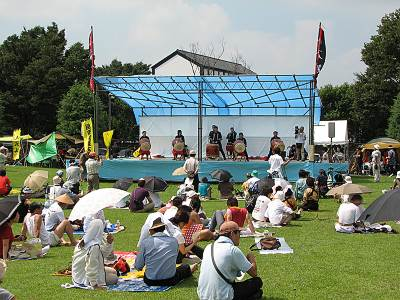 いるま太鼓セッション2007その1