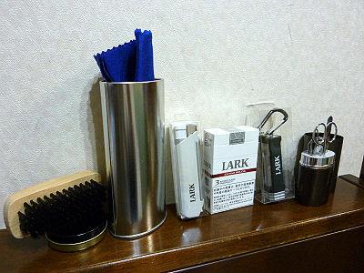 タバコLARKの販促品
