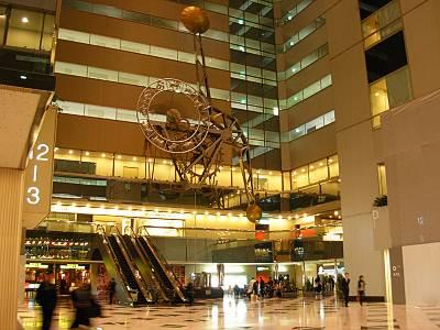新宿NSビル振り子大時計