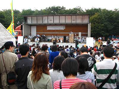所沢市民フェスティバル 埼玉県トラック協会によるビンゴ大会