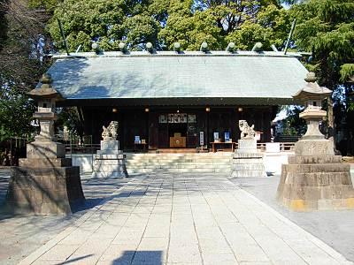 所澤(所沢) 神明社