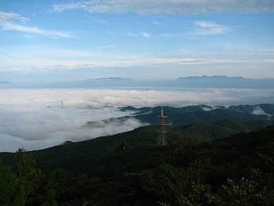 八溝山からの眺望