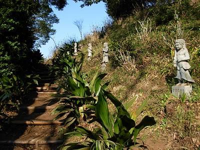 東福寺の裏山(南無三十六童子)
