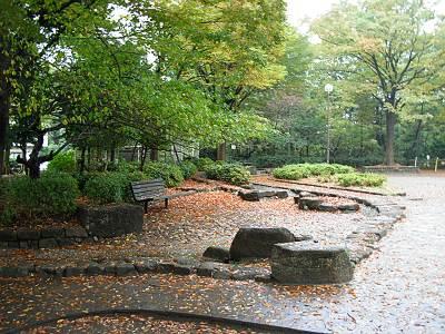所沢市和田南公園の水路