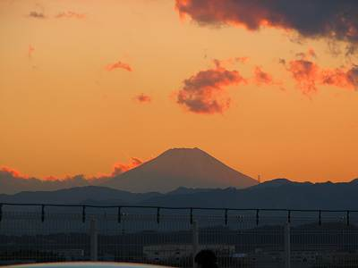 THE MALLみずほ16からの富士山その4