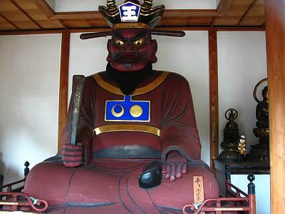 長栄寺の閻魔像